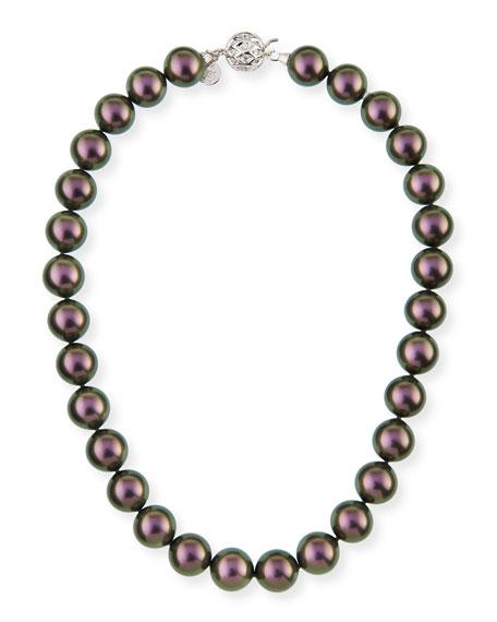 Majorica 14mm Tahitian Simulated Pearl Necklace, 18