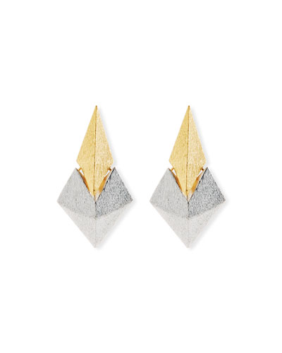 Battle Two-Tone Earrings