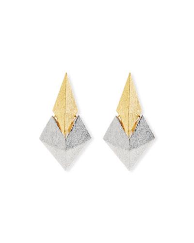 Battle Two-Tone Earrings