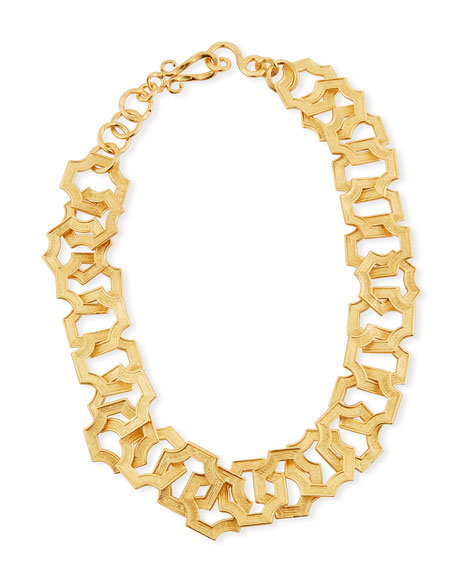 Russet Chain Link Necklace