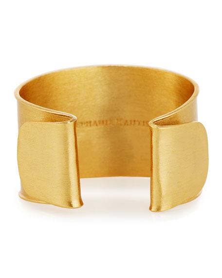 Shutter Brushed Cuff Bracelet