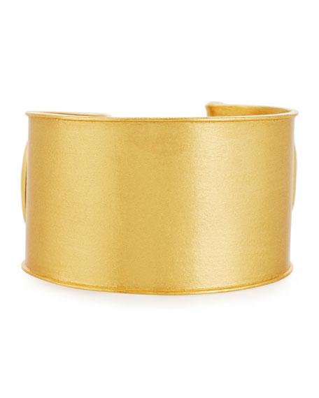 Stephanie Kantis Shutter Brushed Cuff Bracelet