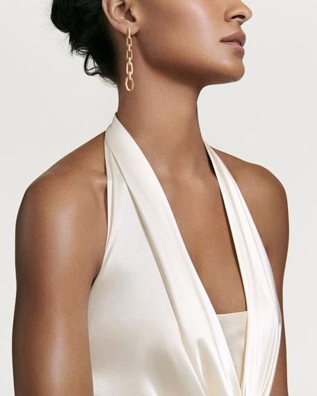Stax 18k Convertible Chain Link Earrings