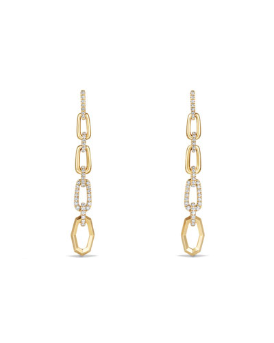 Stax 18k Convertible Chain Link Earrings