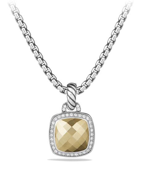 David Yurman Albion Pendant with Diamonds and 18k