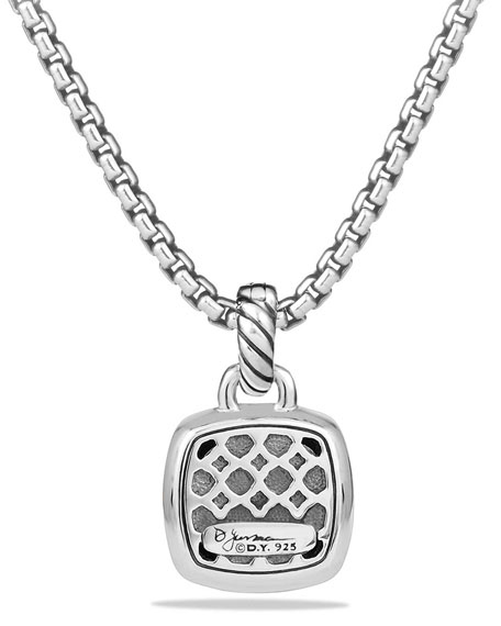 Albion Stone Pendant with Diamonds