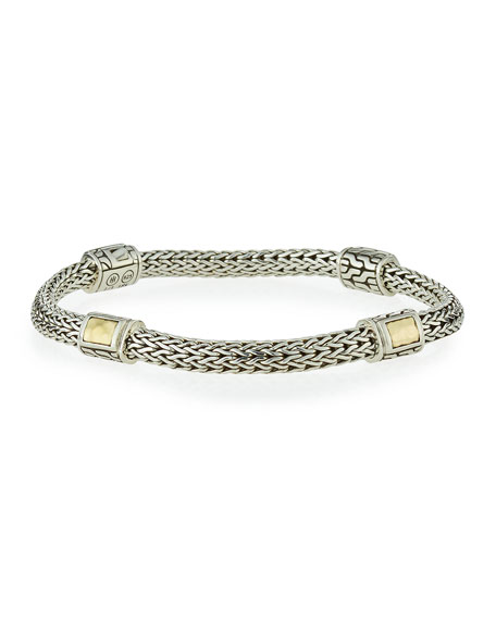 Medium Classic Chain Four-Station Bracelet