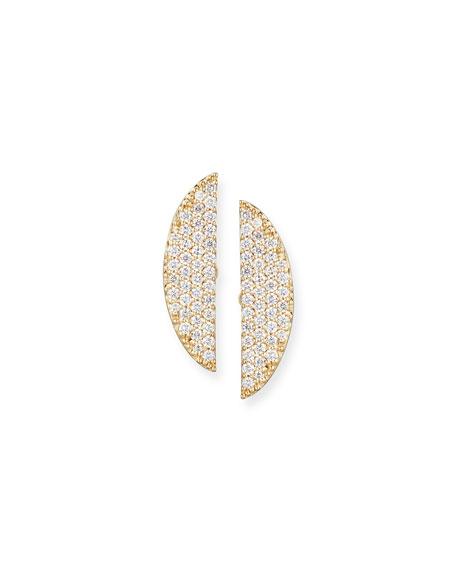 Lana Jewelry Eclipse 14K Pavé Diamond Earrings R1Ta7cbJty