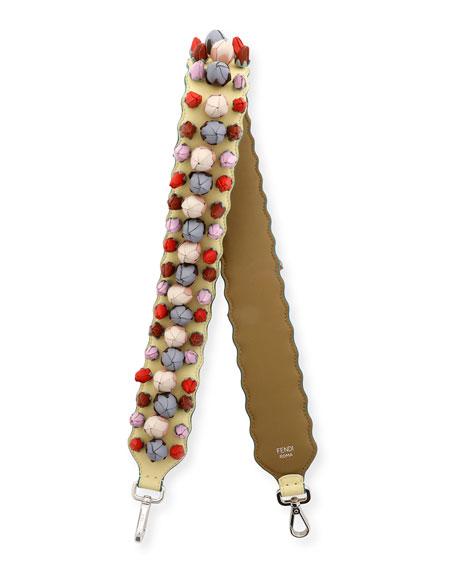 Fendi Strap You Rosebud Shoulder Strap for Handbag,