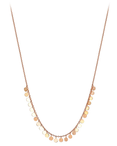 Kismet by Milka 14k Circle-Station Chain Necklace