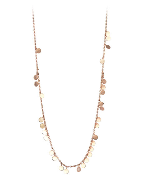 Kismet by Milka 14k Circle Chain Necklace 5afep