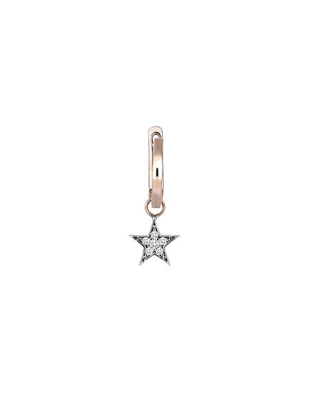 Wonder Diamond Star Hoop Earring