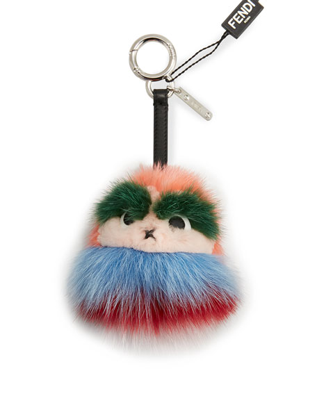 Fendi Kid Bag Charm, Red/Multi