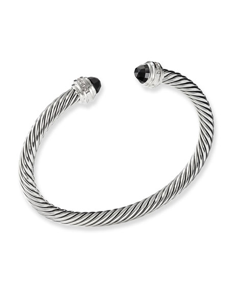 David Yurman Cable Classics Bracelet with Hampton Blue