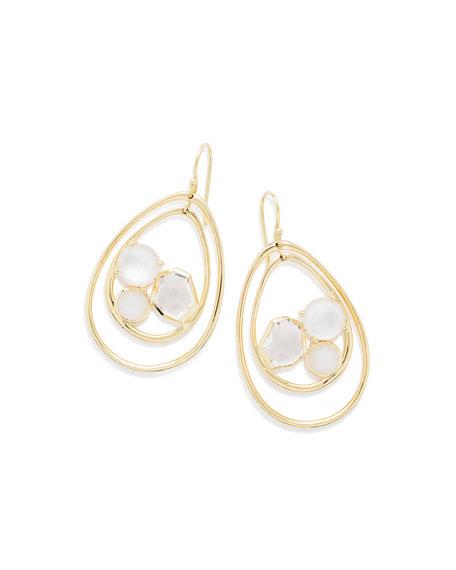 Ippolita 18K Rock Candy Pear-Shaped Wire Earrings in