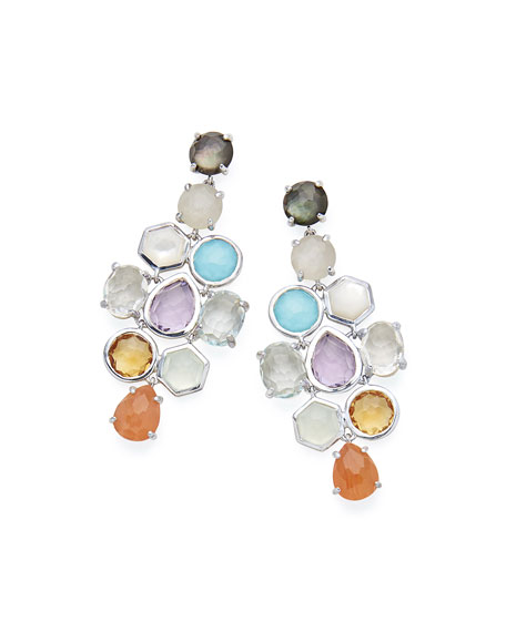 Ippolita 925 Rock Candy Cascade Earrings in Black