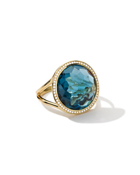 Ippolita 18k Gold Rock Candy Lollipop Ring in