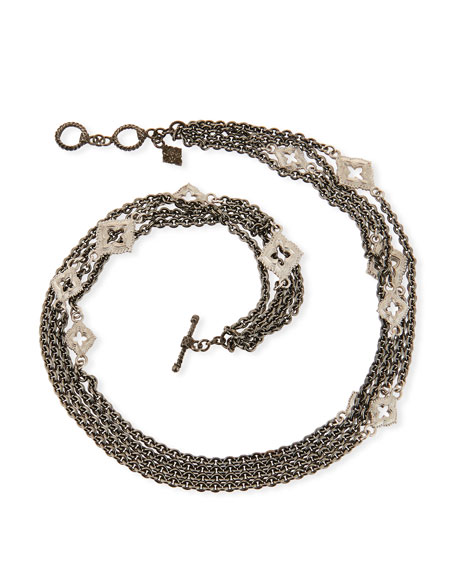 Armenta New World Double-Wrap Chain Bracelet