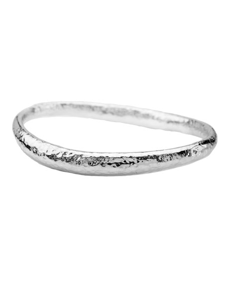 Ippolita Sterling Silver Glamazon Thick Fettucine Bangle