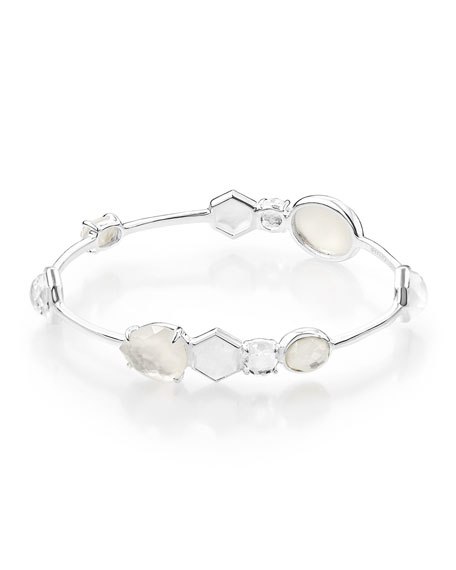 Ippolita 925 Rock Candy 10-Stone Bangle Bracelet in