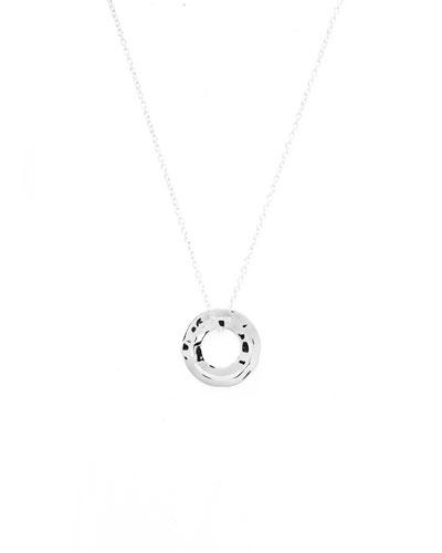 925 Senso&#153 Wavy Disc Necklace