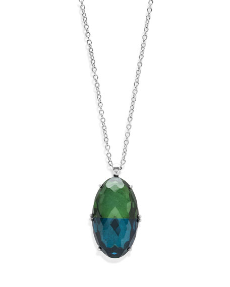 Ippolita 925 Rock Candy Split-Stone Pendant Necklace in