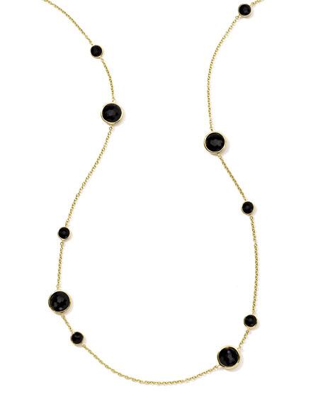 """18K Rock Candy Lollipop Necklace, 37"""""""