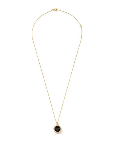 Rock Candy 18k Gold Mini Lollipop Necklace