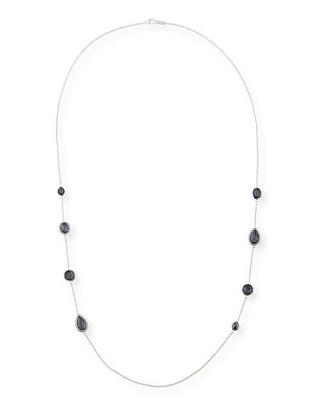 Ippolita 925 Lollipop Multi-Stone Station Necklace in Doublet