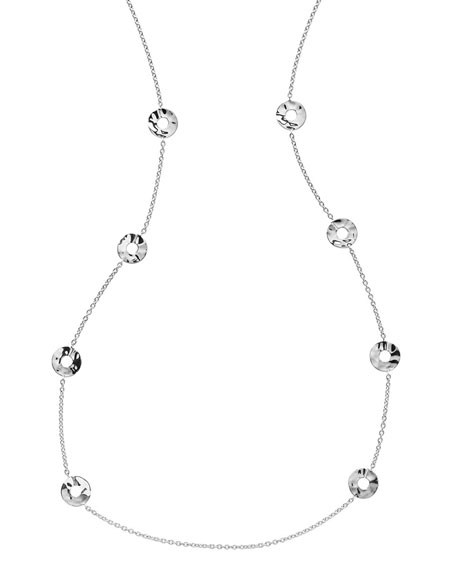 Senso Disc Station Necklace, 37""