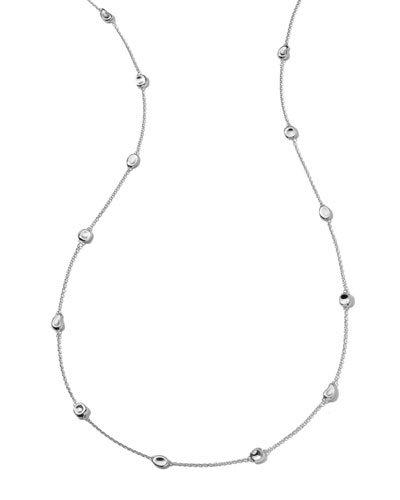 Silver Station Necklace, 37