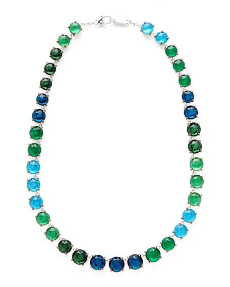 Ippolita 925 Rock Candy Wonderland Tennis Necklace in