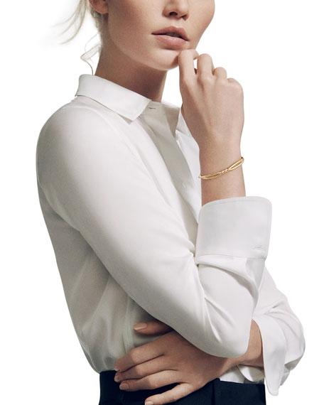 Continuance 18K Gold Twist Bracelet, Size L
