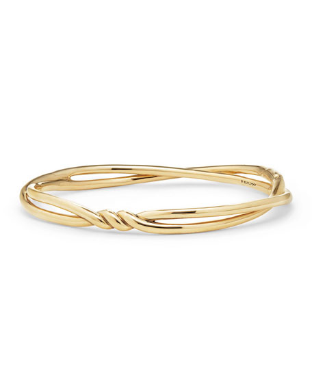 6mm Continuance Twisted 18K Bracelet