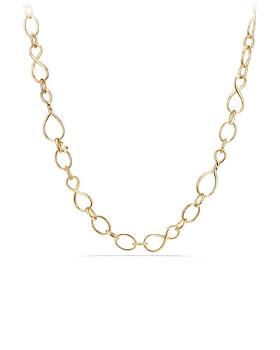 Continuance Medium 18K Chain Necklace, 32
