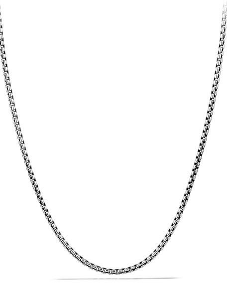 David Yurman Small Box Chain, 18