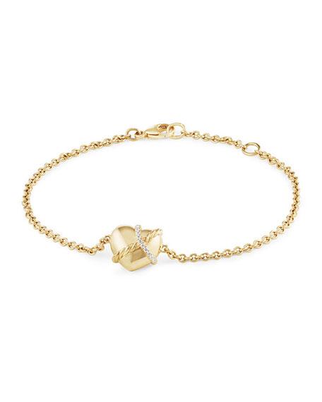 David Yurman Le Petit Coeur Sculpted Heart Chain