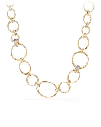 Crossover Convertible Necklace/Bracelet in 18K Gold