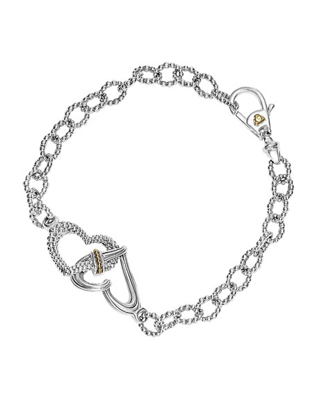 Lagos Beloved Sterling Silver Link Bracelet