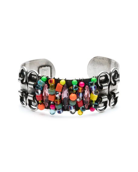 Dannijo Feliz Crystal Cuff Bracelet