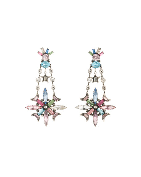 Jamilah Crystal Statement Earrings
