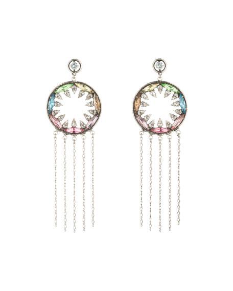 Zahra Crystal Statement Earrings