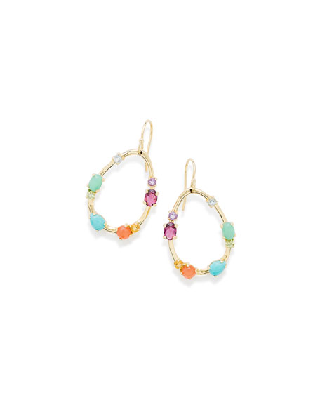 Ippolita 18K Rock Candy?? Medium Frame Earrings in