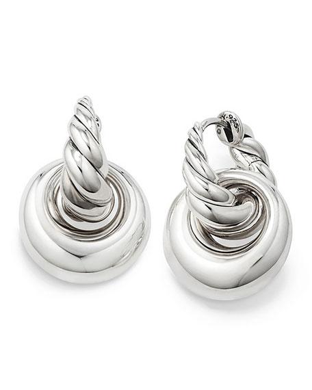 Pure Form Doorknocker Earrings