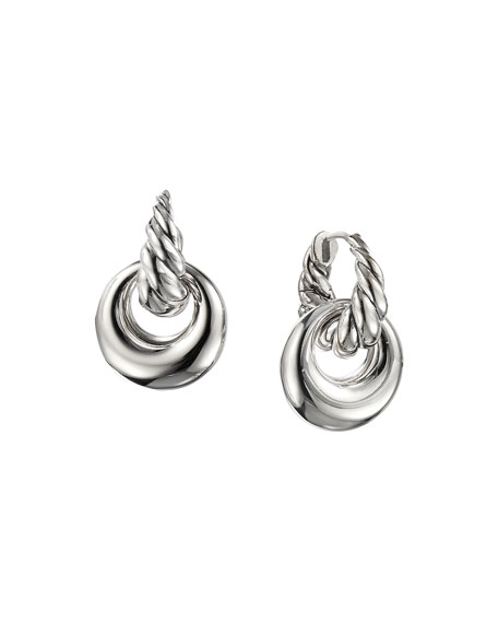 Pure Form Doorknocker Earrings