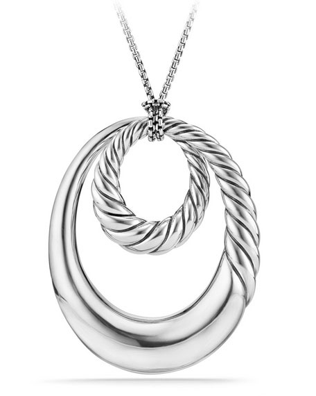 Pure Form Sterling Silver Pendant Necklace