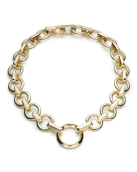 Eddie Borgo O-Ring Chain Necklace