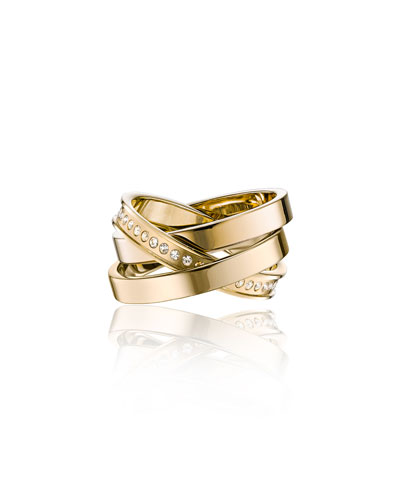 Cassio Pave Crystal Ring Set