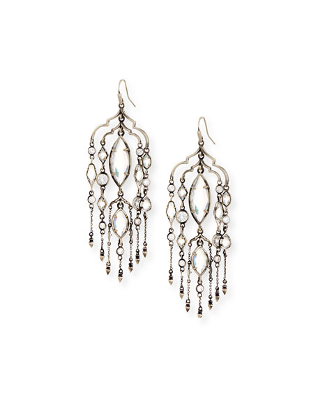Kendra Scott Emma Crystal Duster Earrings