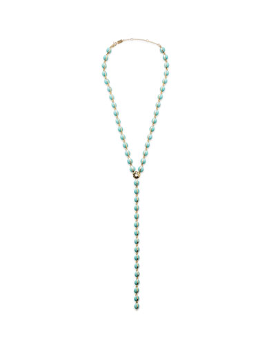 18K Senso™ Turquoise Y-Drop Necklace